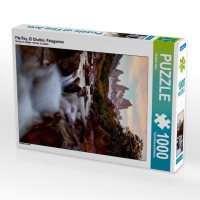 Fitz Roy, El Chaltén, Patagonien (Puzzle)