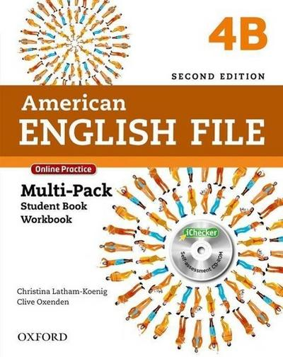American English File 4: Multi-Pack B with Online Practice and iChecker