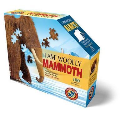 MADD CAPP Shape Puzzle Junior - Mammut 100 Teile
