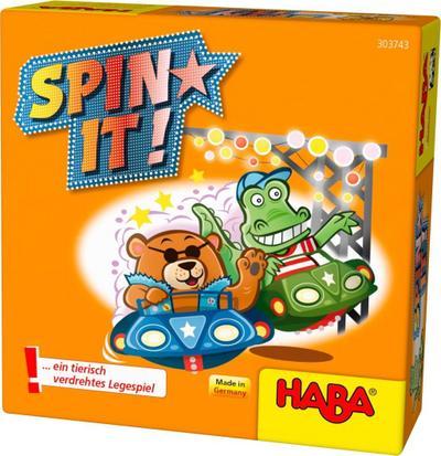 Haba 303743 Spin it! - Haba - Spielzeug, Niederländisch| Englisch| Französisch| Deutsch| Italienisch| Spanisch, , ,