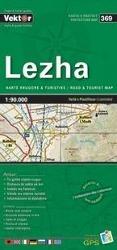 Lezha Provinzkarte 1 : 90 000 GPS