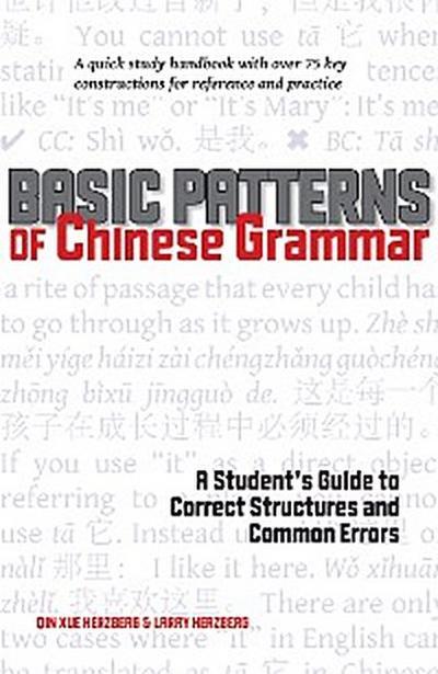 Basic Patterns of Chinese Grammar