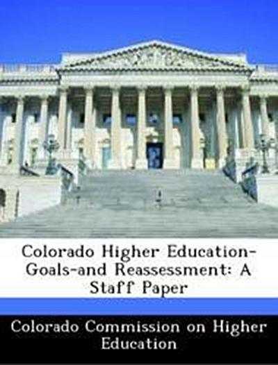 Colorado Commission on Higher Education: Colorado Higher Edu