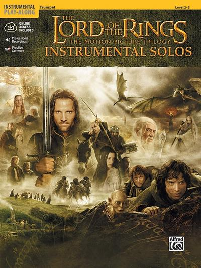 The Lord of the Rings Instrumental Solos: Trumpet, Book & Online Audio/Software