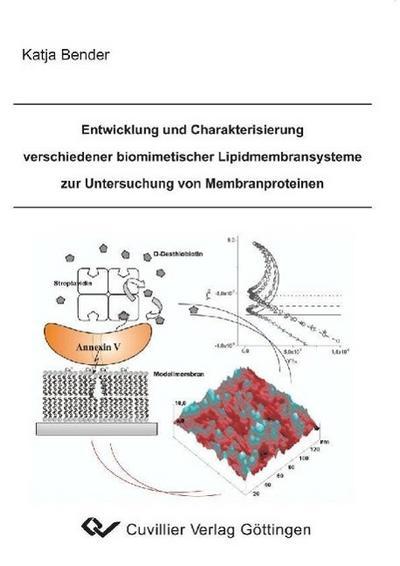 Entwicklung und Charakterisierung verschiedener biomimetischer Lipidmembransysteme zur Untersuchung von Membranproteinen