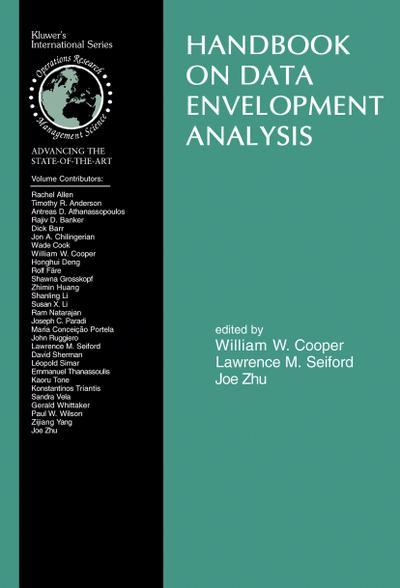 Handbook on Data Envelopment Analysis