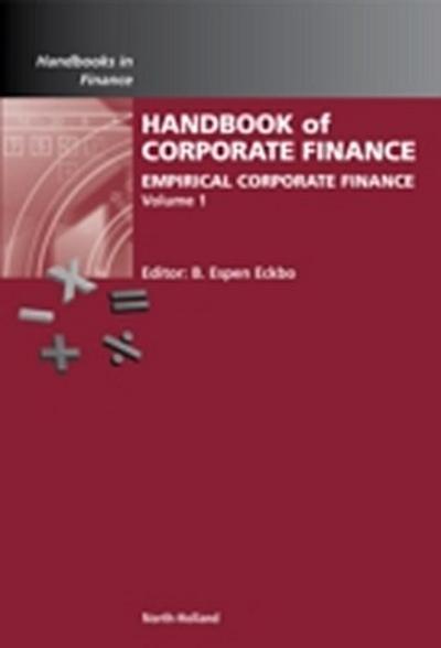 Handbook of Empirical Corporate Finance SET