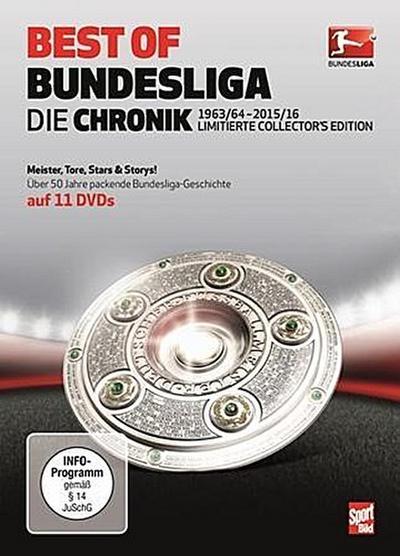 Best of Bundesliga, 11 DVDs