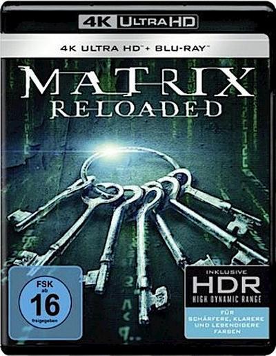 Matrix Reloaded 4K, 1 UHD-Blu-ray + 1 Blu-ray
