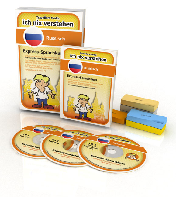 Russisch Express-Sprachkurs Ich-Nix-Verstehen