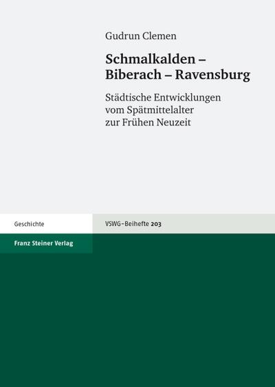 Schmalkalden - Biberach - Ravensburg