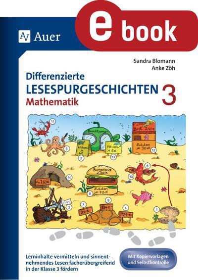 Differenzierte Lesespurgeschichten Mathematik 3