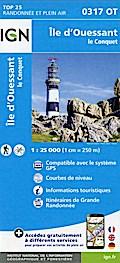 Île d'Ouessant 1:25 000