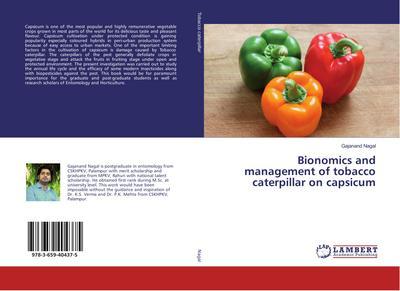 Bionomics and management of tobacco caterpillar on capsicum