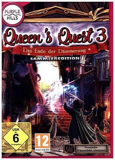Queens Quest 3 - Das Ende der Dämmerung, 1 DVD-ROM (Sammleredition)