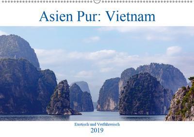 Asien Pur: Vietnam (Wandkalender 2019 DIN A2 quer)