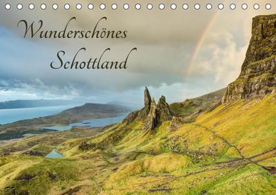 Wunderschönes Schottland (Tischkalender 2019 DIN A5 quer)