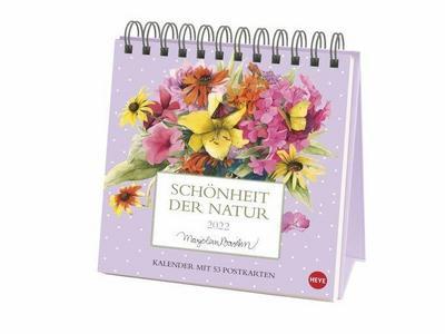 Schönheit der Natur Postkartenkalender 2022