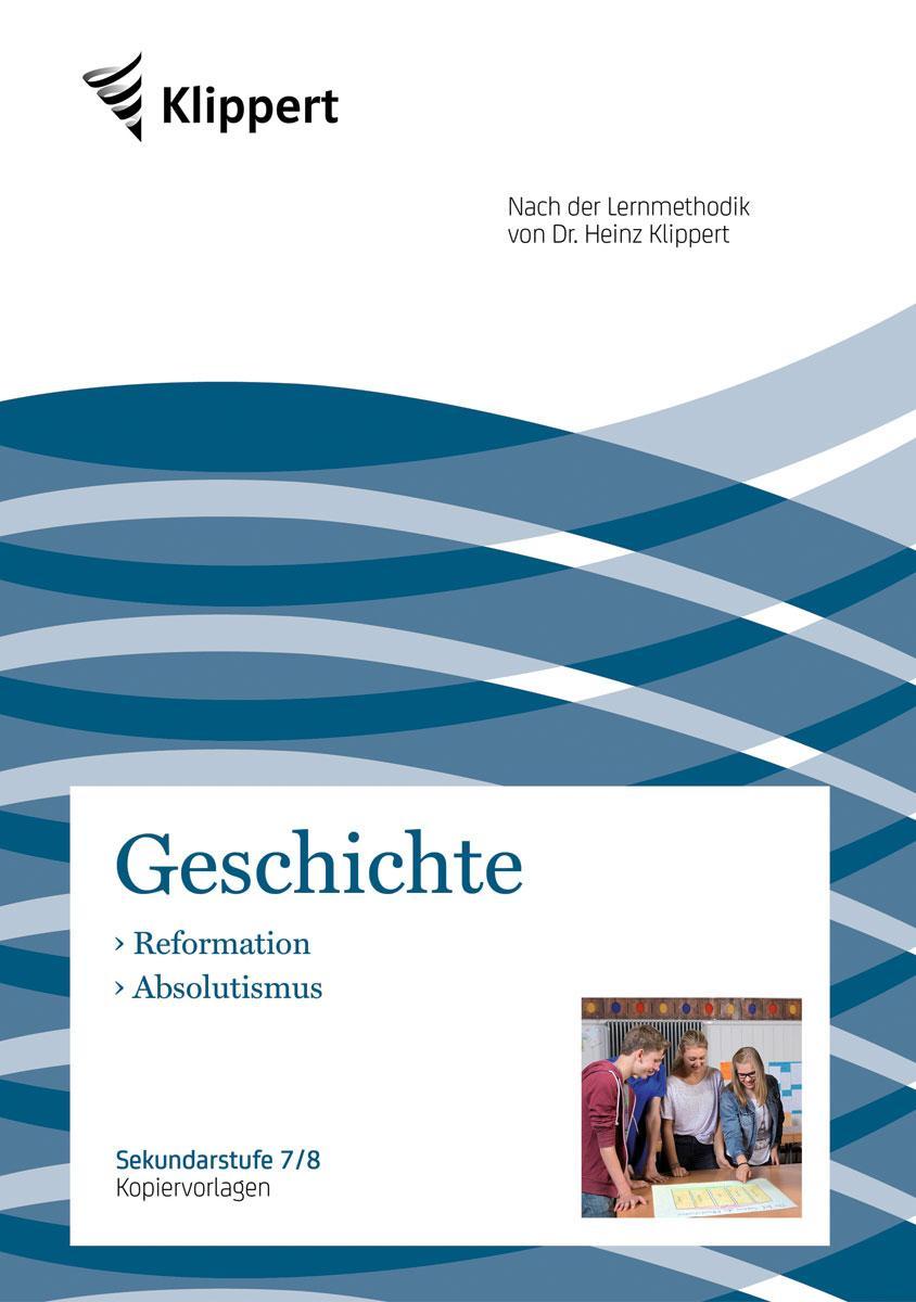 Reformation - Absolutismus ~ Harald Scheufler ~  9783403092261