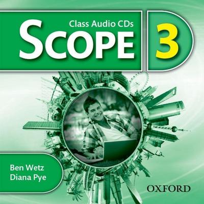 Scope: Level 3. Class Audio CD