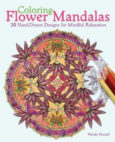 Coloring Flower Mandalas