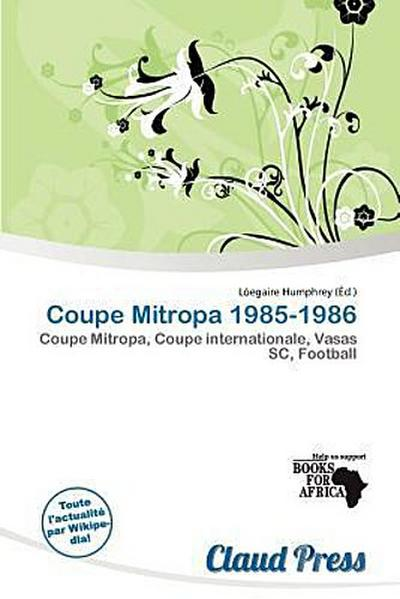 COUPE MITROPA 1985-1986