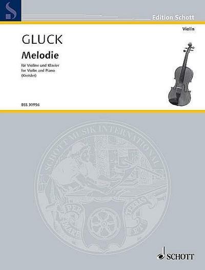 Melodiefür Violine und Klavier