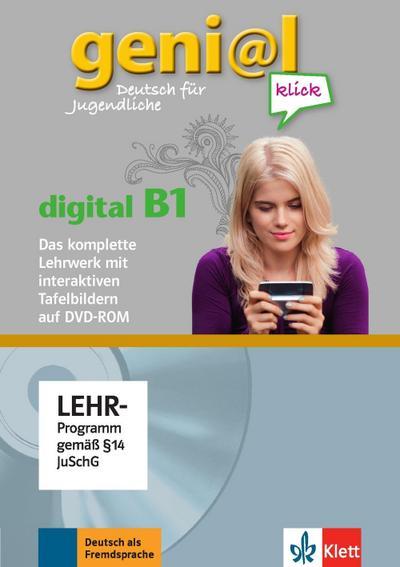 geni@l klick. Lehrwerk Digital mit interaktiven Tafelbildern DVD-ROM B1