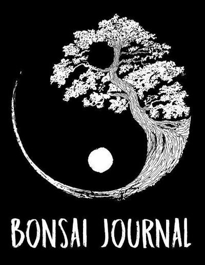 Bonsai Journal: Notebook and Diary to Write in / 100 Pages of Lined & Blank Paper / 8.5x11