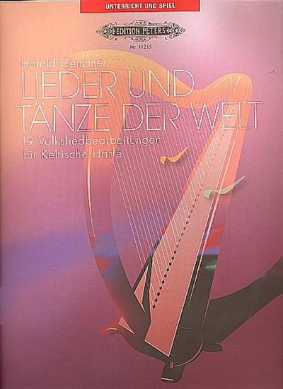 Lieder und Tänze der Welt, für Keltische Harfe