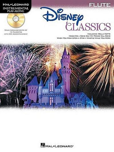 Disney Classics: For Flute Instrumental Play-Along Pack