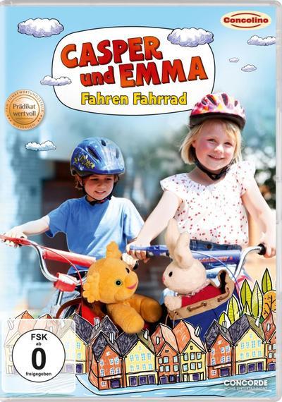 Casper und Emma - Fahren Fahrrad