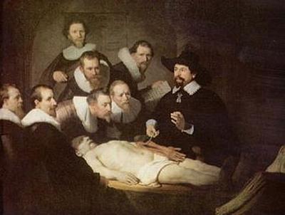 Rembrandt Harmensz. van Rijn - Anatomie des Dr. Tulp - 200 Teile (Puzzle)