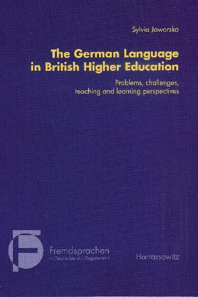 The German Language in British Higher Education