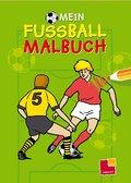 Mein Fußball-Malbuch. Ab 5 Jahren; Malbücher und -blöcke; Ill. v. Appelmann, Karl H; Deutsch; schw.-w. Ill.