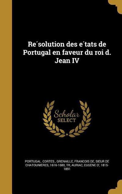 FRE-RE SOLUTION DES E TATS DE