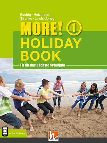MORE! Holiday Book 1, mit 1 Audio-CD Herbert Holzmann Puchta