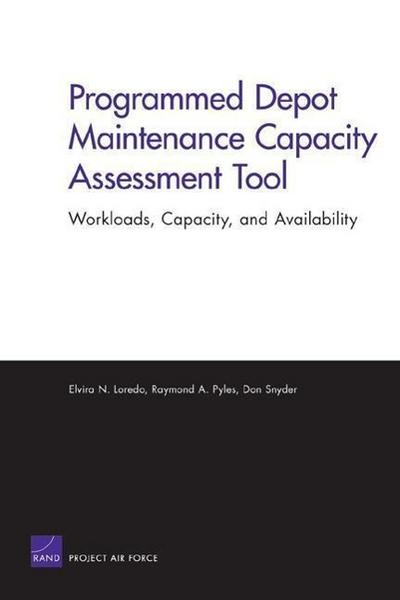 Programmed Depot Maintenance Capacity Assessment Tool: Workloads, Capacity, and Availability