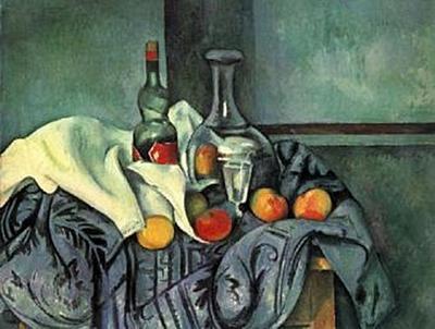 Paul Cézanne - Stilleben, Pfefferminzflasche - 200 Teile (Puzzle)