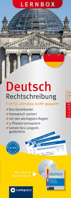 Deutsch Rechtschreibung, Lernbox