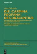 Die 'Carmina profana' des Dracontius