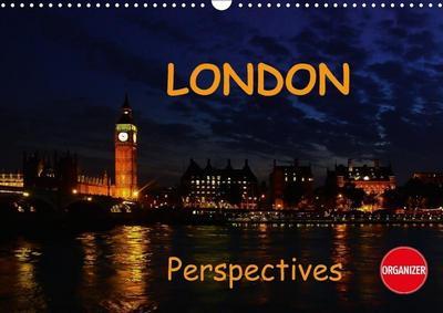 London perspectives (Wall Calendar 2018 DIN A3 Landscape)