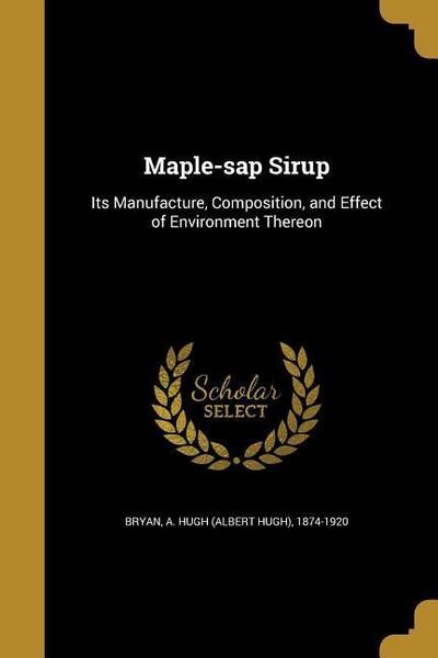 MAPLE-SAP SIRUP