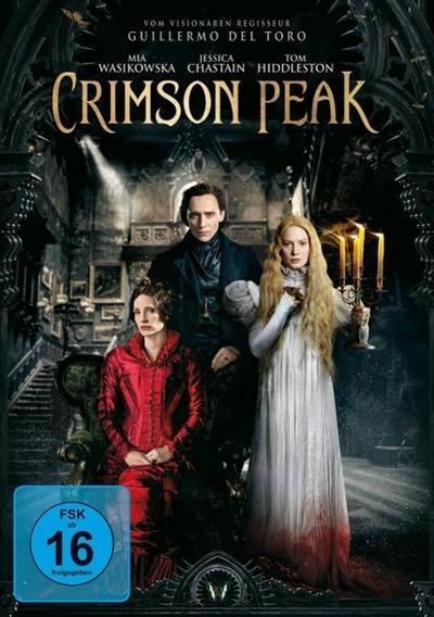 Crimson Peak, 1 DVD