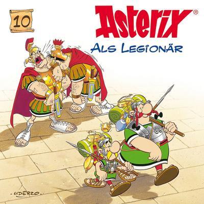 Asterix als Legionär. CD