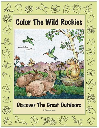 Color the Wild Rockies: Discover the Great Outdoors