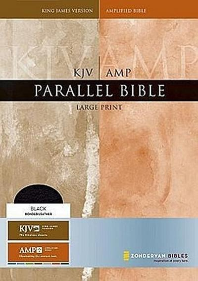 Parallel Bible-PR-KJV/Am-Large Print