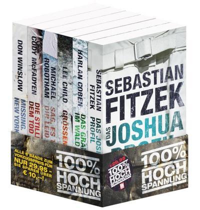 BILD am Sonntag Thriller 2020 / Bundle. 6 Bände. 100% HOCHSPANNUNG!