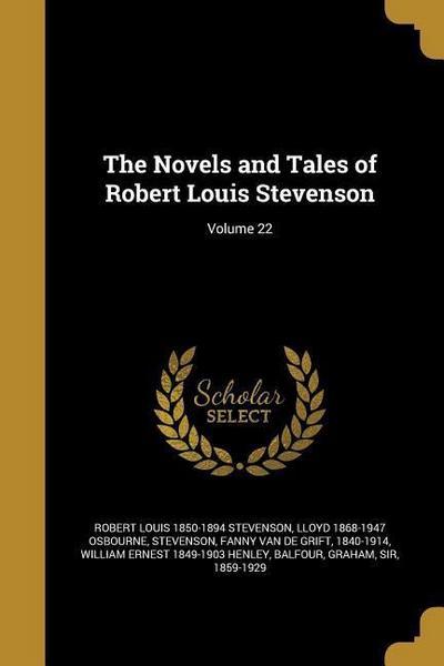 The Novels and Tales of Robert Louis Stevenson; Volume 22
