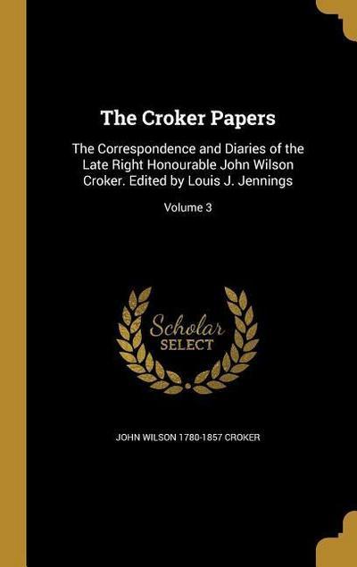 CROKER PAPERS